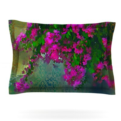 Khushbu by S. Seema Z Featherweight Pillow Sham Size: King, Fabric: Cotton
