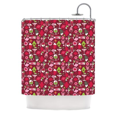 Allison Beilke Holiday Spirit Shower Curtain