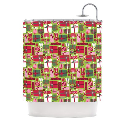 Allison Beilke Prezzies Holiday Shower Curtain
