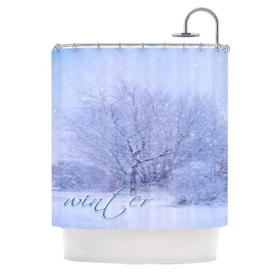 Alison Coxon Winter Tree Shower Curtain
