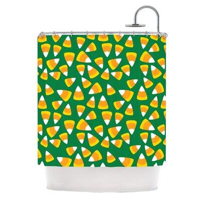 Kandy Korn - Green Shower Curtain