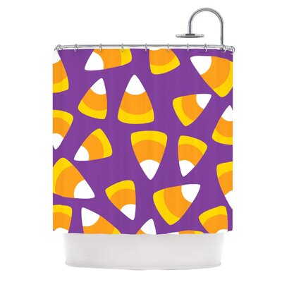 Kandy Korn - Purple Shower Curtain