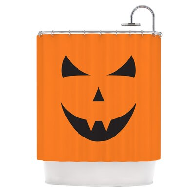 Pumpkin - Trick Shower Curtain