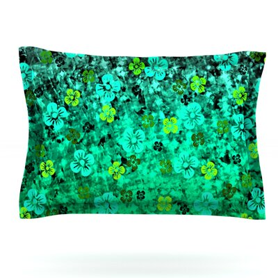 Luck of the Irish by Ebi Emporium Featherweight Pillow Sham Size: Queen, Fabric: Cotton