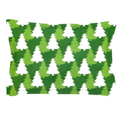 Pine Forest by Heidi Jennnings Featherweight Pillow Sham Size: Queen, Fabric: Cotton