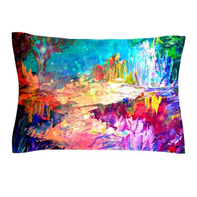 Welcome to Utopia by Ebi Emporium Featherweight Pillow Sham Size: King, Fabric: Cotton