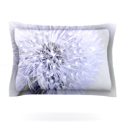 Lavender Wish by Debbra Obertanec Featherweight Pillow Sham Size: King, Fabric: Cotton