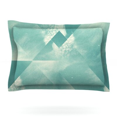 Wild Sky by Danny Ivan Featherweight Pillow Sham Size: King, Fabric: Cotton