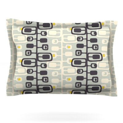 Carnaby by Gill Eggleston Featherweight Pillow Sham Size: Queen, Fabric: Cotton