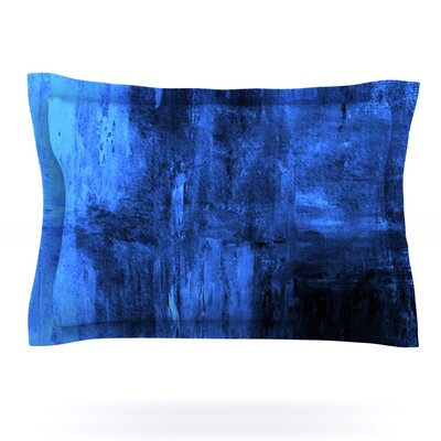 Deep Sea by CarolLynn Tice Featherweight Pillow Sham Size: Queen, Fabric: Cotton