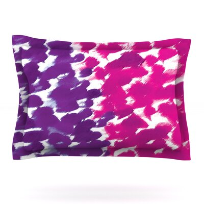 Fleeting Purple by Emine Ortega Featherweight Pillow Sham Size: King