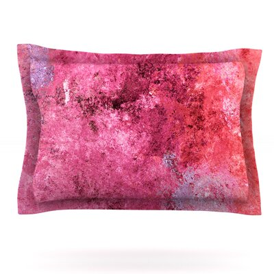 Featherweight Candy by CarolLynn Tice Featherweight Pillow Sham Size: Queen, Fabric: Cotton