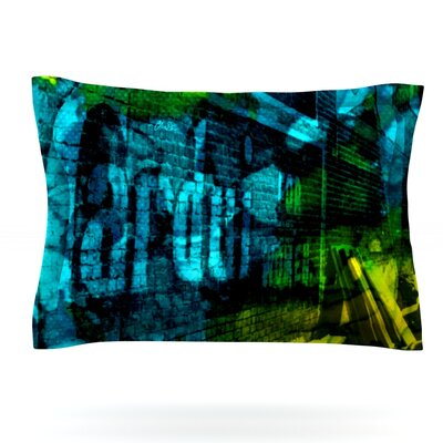 Radford by Claire Day Featherweight Pillow Sham Size: King, Fabric: Cotton