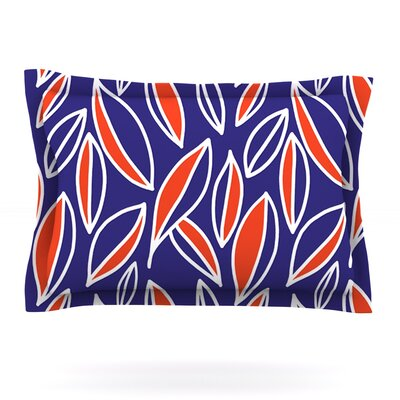 Leaving Orange by Emine Ortega Featherweight Pillow Sham Size: King