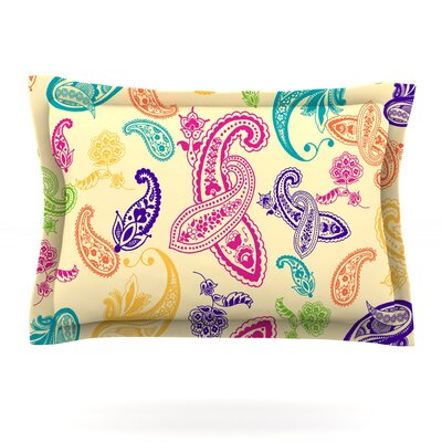 Namaste by Emine Ortega Featherweight Pillow Sham Size: Queen, Fabric: Cotton