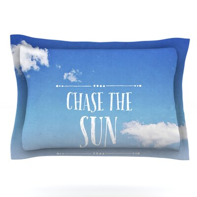 Chase the Sun by Susannah Tucker Featherweight Pillow Sham Size: King