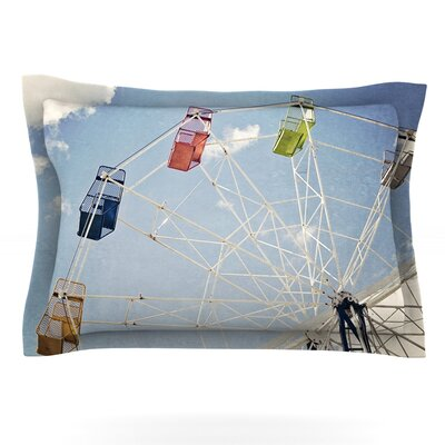 The Show Came to Town by Susannah Tucker Featherweight Pillow Sham Size: Queen