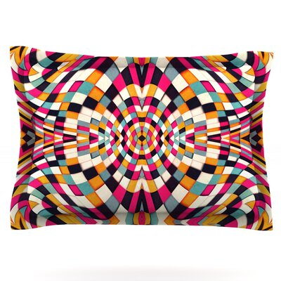Rebel Ya by Danny Ivan Woven Pillow Sham Size: King