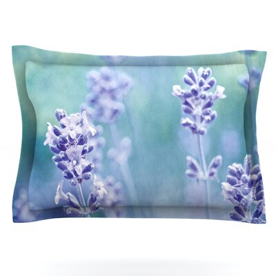 Lavender Dream by Iris Lehnhardt Featherweight Pillow Sham Size: Queen, Fabric: Cotton