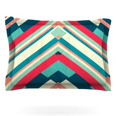 Goodnight Nobody by Danny Ivan Featherweight Pillow Sham Size: King, Fabric: Cotton
