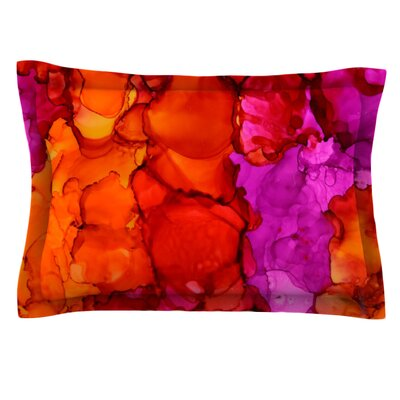 Fierce by Claire Day Featherweight Pillow Sham Size: Queen, Fabric: Cotton
