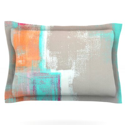 Gifted by CarolLynn Tice Featherweight Pillow Sham Size: King, Fabric: Cotton