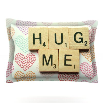 Hug Me by Cristina Mitchell Featherweight Pillow Sham Size: Queen, Fabric: Cotton