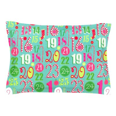 Merry Countdown by Heidi Jennings Pillow Sham Size: Queen, Fabric: Cotton