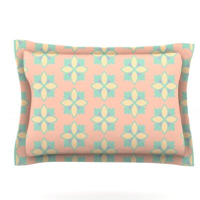 Pattern #1 by Deepti Munshaw Featherweight Pillow Sham Size: Queen, Fabric: Cotton