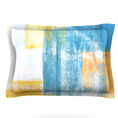 Color Combo by CarolLynn Tice Featherweight Pillow Sham Size: Queen, Fabric: Cotton