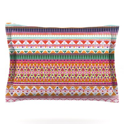 Chenoa by Nika Martinez Featherweight Pillow Sham Size: King, Fabric: Cotton
