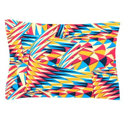 Painting Life by Danny Ivan Featherweight Pillow Sham Size: Queen, Fabric: Cotton