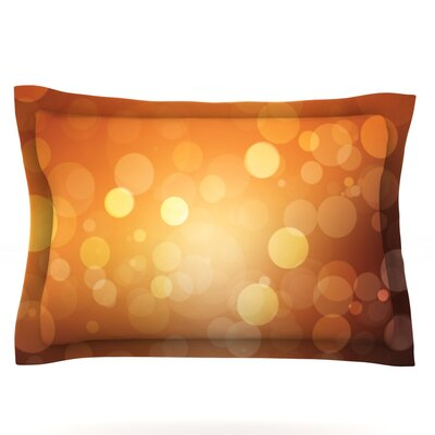 Sunrise Featherweight Pillow Sham Size: King, Fabric: Cotton