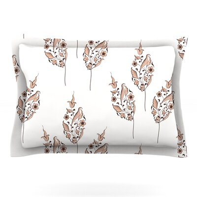 Louise Woven Pillow Sham Size: Queen