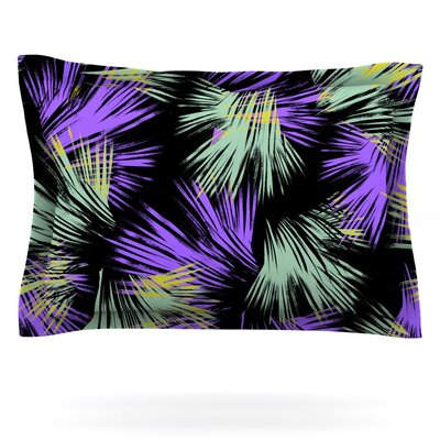 Tropical Fun by Gabriela Fuente Featherweight Pillow Sham Size: King, Fabric: Cotton