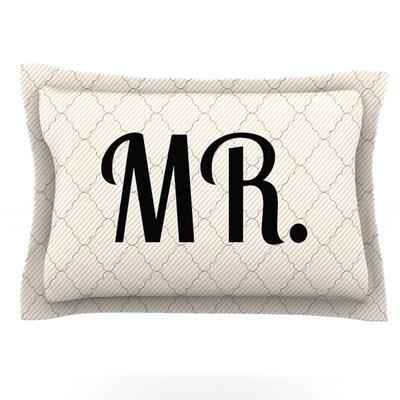MR Featherweight Pillow Sham Size: King, Fabric: Cotton