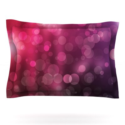 Dark Horse Featherweight Pillow Sham Size: King, Fabric: Cotton