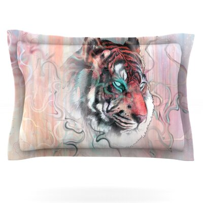 Illusive by Nature by Mat Miller Featherweight Pillow Sham Size: Queen, Fabric: Cotton