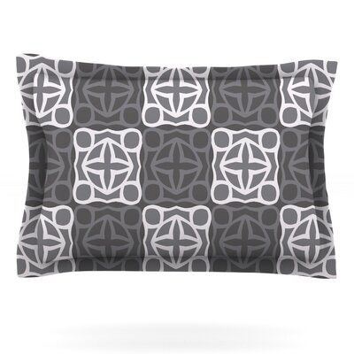 Granny Goes Modern by Miranda Mol Featherweight Pillow Sham Size: Queen, Fabric: Cotton