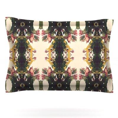 Enchanted Garden by Deepti Munshaw Featherweight Pillow Sham Size: Queen, Fabric: Cotton