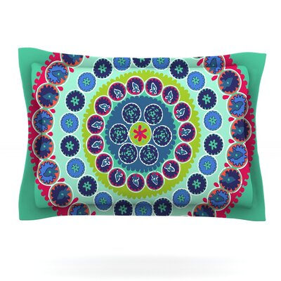 Surkhandarya by Laura Nicholson Featherweight Pillow Sham Size: King, Fabric: Cotton