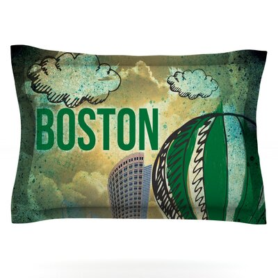 iRuz33 Boston Featherweight Sham Size: King, Fabric: Cotton