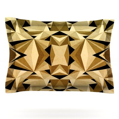 Abstraction by Nika Martinez Pillow Sham Size: King, Fabric: Cotton