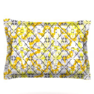 Effloresco by Miranda Mol Featherweight Pillow Sham Size: King, Fabric: Cotton