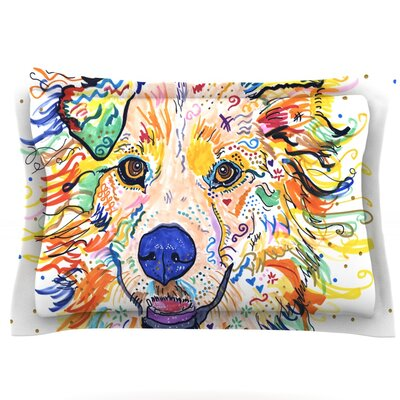 Jess by Rebecca Fischer Featherweight Pillow Sham Size: King, Fabric: Cotton