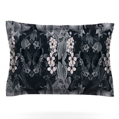 Magnolia Cushion by Suzanne Carter Featherweight Pillow Sham Size: Queen, Fabric: Cotton