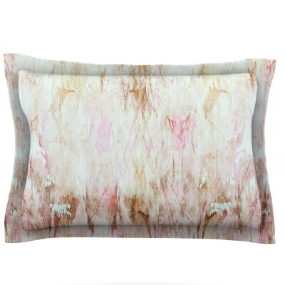 Florian by Suzanne Carter Featherweight Pillow Sham Size: King, Fabric: Cotton