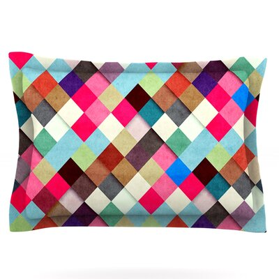 Ubrik by Danny Ivan Featherweight Pillow Sham Size: Queen, Fabric: Cotton