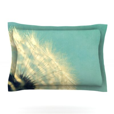Just Dandy by Robin Dickinson Featherweight Pillow Sham Size: King, Fabric: Cotton