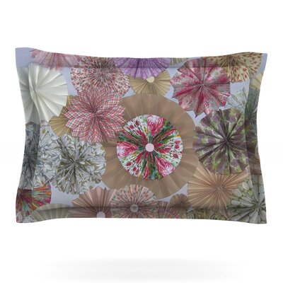 Pink Lady by Heidi Jennings Featherweight Pillow Sham Size: Queen, Fabric: Cotton